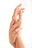 красивейшая женщина рук s Стоковое Фото