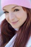 красивейшая женщина сезона падения Стоковое фото RF