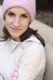 красивейшая женщина сезона падения Стоковое Фото