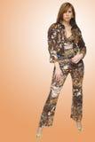 красивейшая женщина способа Стоковое Фото