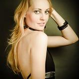 красивейшая женщина способа Стоковые Изображения RF