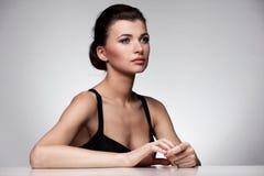 красивейшая женщина спы портрета Стоковые Фото