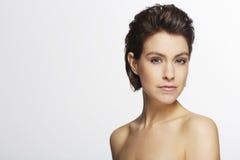 красивейшая женщина студии Стоковые Фото