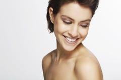 красивейшая женщина студии Стоковая Фотография RF
