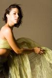 красивейшая женщина танцы Стоковое Фото