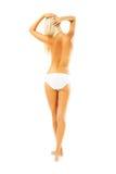 красивейшая женщина тела стоковое изображение rf