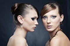 красивейшая женщина ювелирных изделий 2 Стоковое Фото