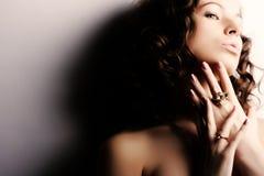 красивейшая женщина стоковая фотография rf