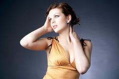 красивейшая женщина Стоковое Фото
