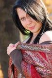 красивейшая женщина Стоковое фото RF