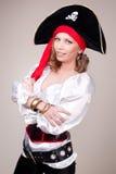 красивейшая женщина costume масленицы Стоковые Фотографии RF