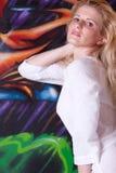 красивейшая женщина headshot Стоковые Фото