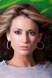 красивейшая женщина headshot Стоковые Изображения