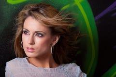 красивейшая женщина headshot Стоковая Фотография