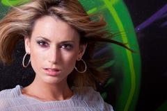 красивейшая женщина headshot Стоковые Изображения RF