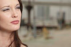 красивейшая женщина headshot Стоковое фото RF