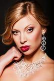 красивейшая женщина jewellery Стоковые Фотографии RF