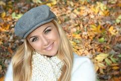 красивейшая женщина outdoors Стоковое Изображение