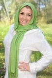 красивейшая женщина outdoors Стоковая Фотография RF