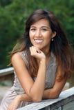 красивейшая женщина outdoors 5 Стоковое Изображение RF