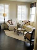 красивейшая живущая комната Стоковое Изображение