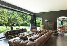 красивейшая живущая комната Стоковые Фотографии RF