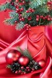 красивейшая жизнь рождества все еще Стоковое Изображение
