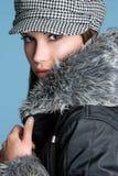 красивейшая зима девушки Стоковое фото RF