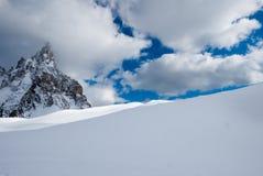 красивейшая зима космоса места экземпляра Стоковые Изображения RF
