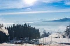 Красивейшая зима стоковые фотографии rf