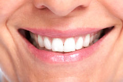 красивейшая здоровая усмешка Стоковая Фотография RF