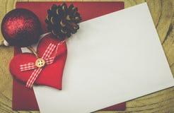 красивейшая иллюстрация архива eps рождества карточки 8 включила сбор винограда вала Стоковая Фотография RF