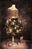 красивейшая иллюстрация архива eps рождества карточки 8 включила сбор винограда вала Стоковые Изображения RF