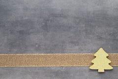 красивейшая иллюстрация рождества играет главные роли вектор Картина рождества Предпосылка на сером цвете Стоковые Изображения RF