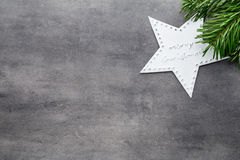 красивейшая иллюстрация рождества играет главные роли вектор Картина рождества Предпосылка на сером цвете Стоковые Фотографии RF