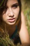 красивейшая кавказская девушка стоковое изображение