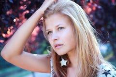 красивейшая кавказская модель Стоковая Фотография RF
