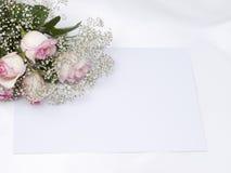 красивейшая карточка букета Стоковое Изображение RF