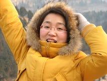 красивейшая китайская девушка Стоковая Фотография