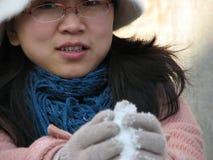 красивейшая китайская девушка Стоковые Изображения
