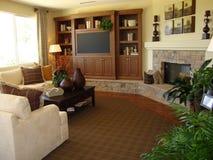 красивейшая комната семьи Стоковая Фотография