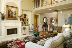 красивейшая комната семьи Стоковые Фотографии RF