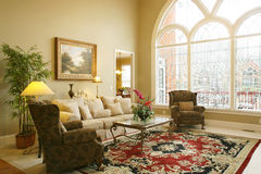 красивейшая комната семьи Стоковые Фото