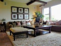 красивейшая комната семьи Стоковое Изображение