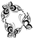 красивейшая конструкция бабочки Стоковое Изображение