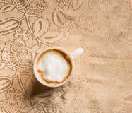 красивейшая кофейная чашка Стоковые Изображения