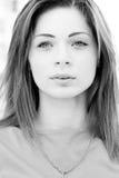 красивейшая красотка eyes портрет состава девушки естественный стоковое фото