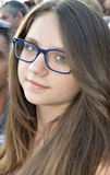 красивейшая красотка eyes портрет состава девушки естественный стоковые изображения