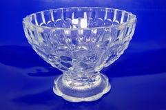 красивейшая кристаллическая ваза Стоковые Изображения