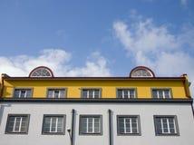 красивейшая крыша пентхауса дома Стоковая Фотография